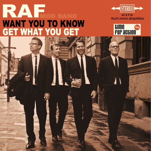RAF, want you to know cover