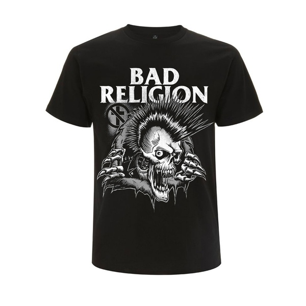 BAD RELIGION, bust out (boy) black cover