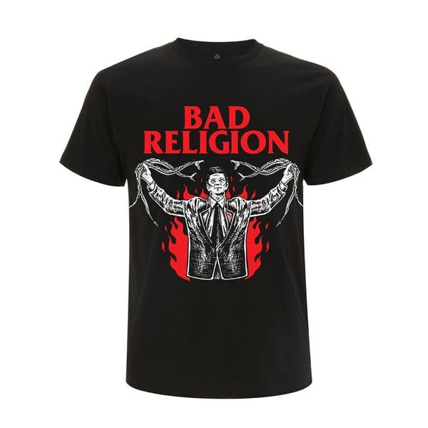 BAD RELIGION, snake preacher (boy) black cover