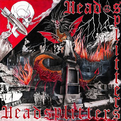 HEADSPLITTERS, s/t cover