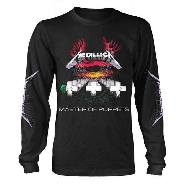METALLICA, master of puppets LS black cover