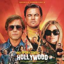 O.S.T. (QUENTIN TARANTINO), once upon a time in hollywood cover