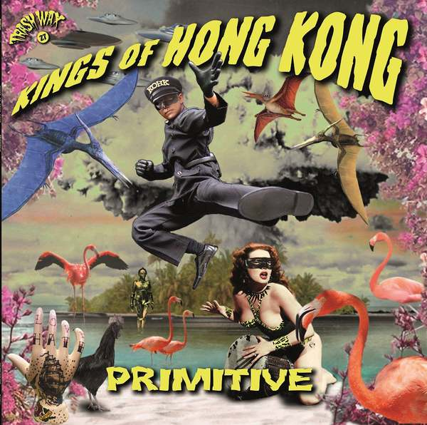 KINGS OF HONG KONG, primitive cover