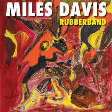 MILES DAVIS, rubberband cover