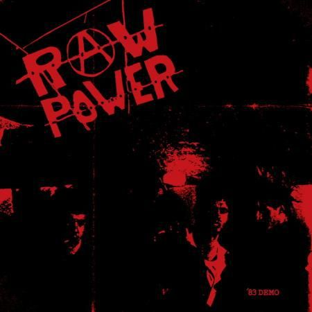 RAW POWER, demo 83 cover