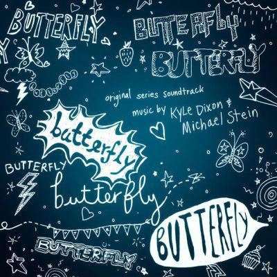 O.S.T. (KYLE DIXON & MICHAEL STEIN), butterfly cover