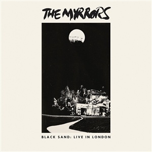 MYRRORS, black sand: live in london cover