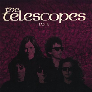 TELESCOPES, taste (30th anniversary) cover