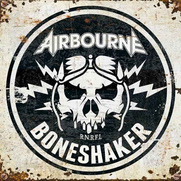 AIRBOURNE, boneshaker cover