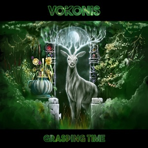 VOKONIS, grasping time cover