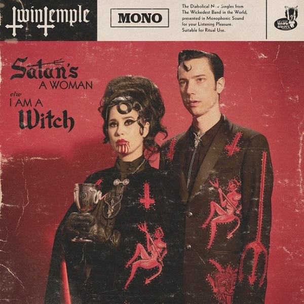 TWIN TEMPLE, satan´s a woman / I am a witch cover