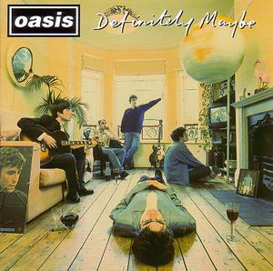 OASIS, definitely maybe 25 cover