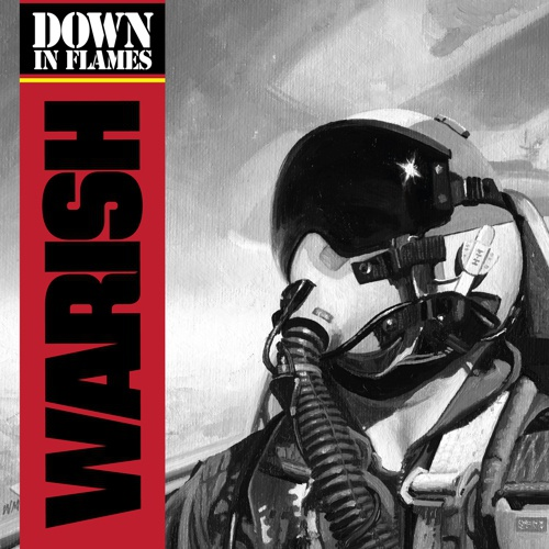 WARISH, down in flames cover