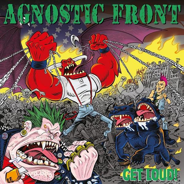 AGNOSTIC FRONT, get loud! cover