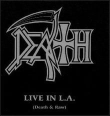 DEATH, live in l.a. cover