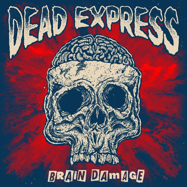 DEAD EXPRESS, brain damage cover