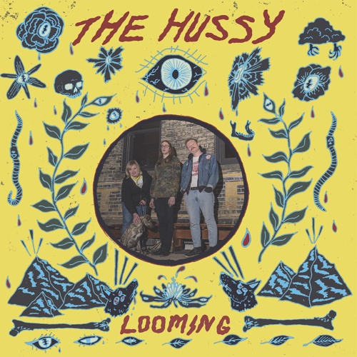 HUSSY, looming cover