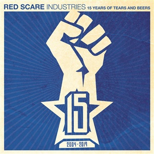 V/A, red scare industries: 15 years of tears and beers cover