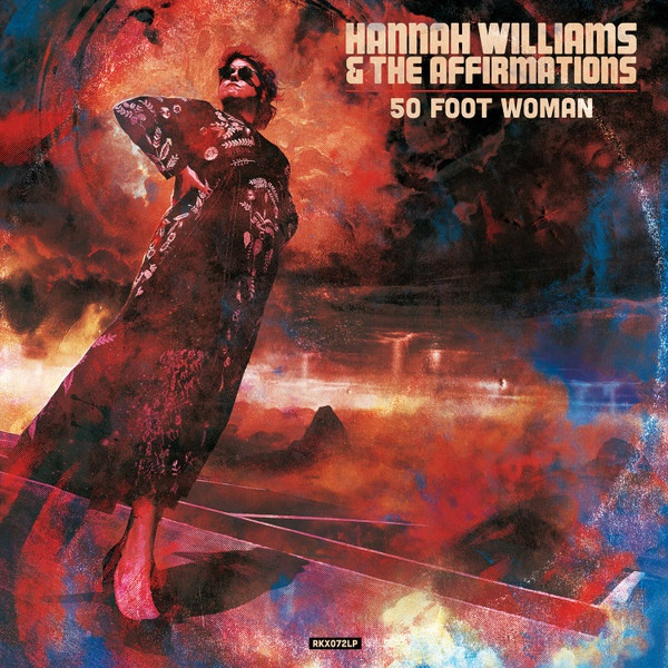 HANNAH WILLIAMS & THE AFFIRMATIONS, 50 foot woman cover