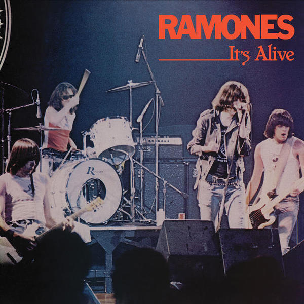 RAMONES, it´s alive (40th anniversary edition) cover