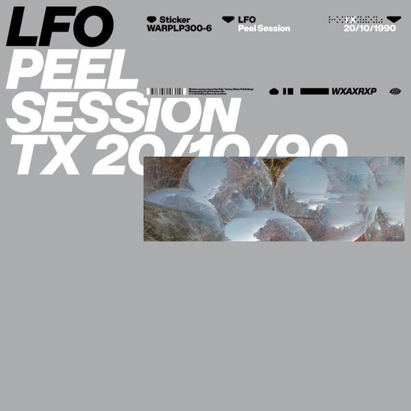 LFO, peel session cover