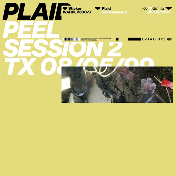 PLAID, peel session 2 cover