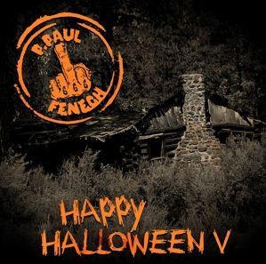 P. PAUL FENECH, happy halloween v cover