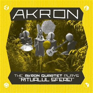 "AKRON, akron quartet plays ""ritualul sferei"" cover"