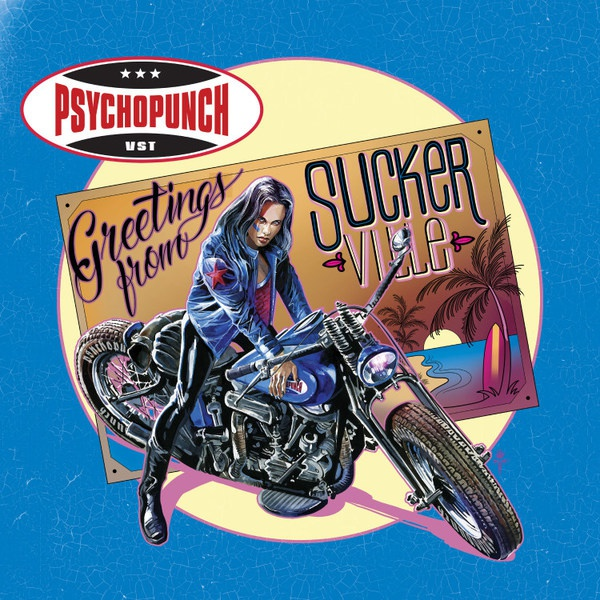 PSYCHOPUNCH, greetings from suckerville cover