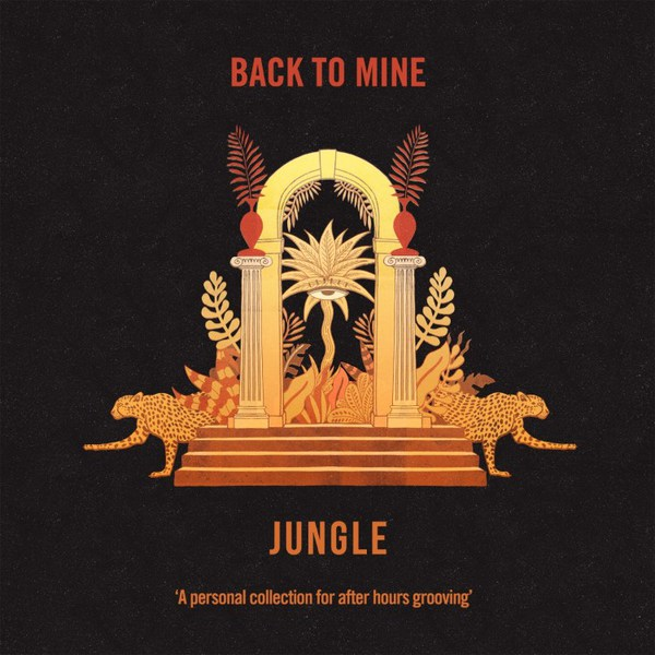 JUNGLE, presents back to mine cover