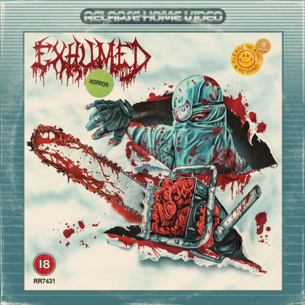 EXHUMED, horror cover