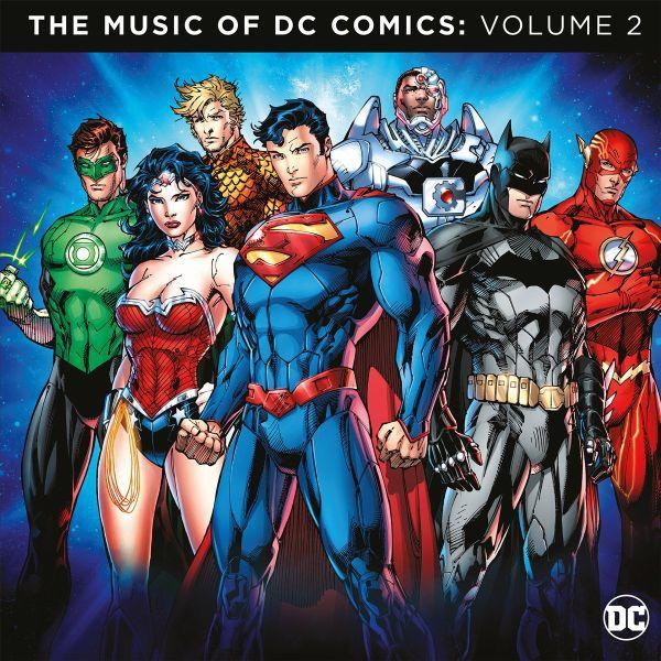 O.S.T., music of dc comics vol. 2 cover