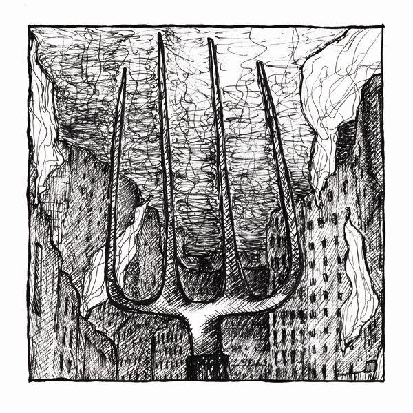 DER FEINE HERR SOUNDSO / MOLOCH, split cover