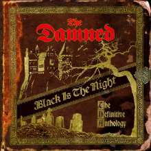 DAMNED, black is the night: the definitive anthology cover