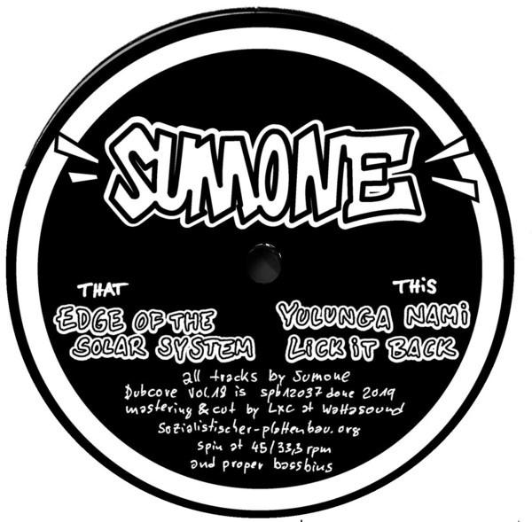 SUMONE, dubcore vol. 18 cover
