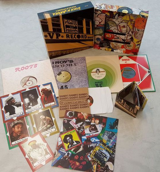 V/A, down in jamaica: 40 years of vp records cover
