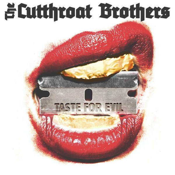 CUTTHROAT BROTHERS, taste for evil cover
