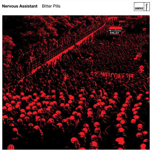 NERVOUS ASSISTANT, bitter pills cover
