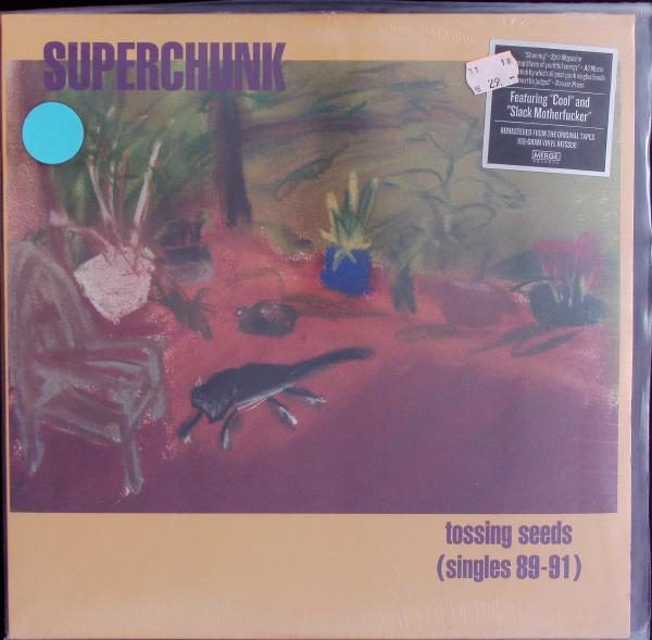 SUPERCHUNK, tossing seeds (singles 89-91) (USED) cover