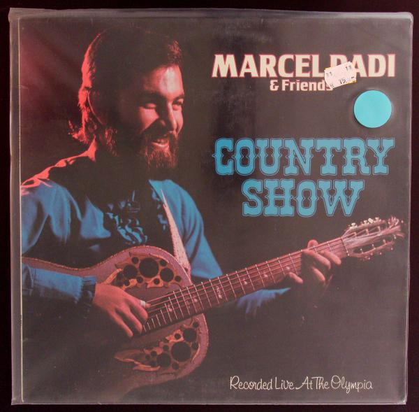 MARCEL DADI & FRIENDS, country show/live at the olympia (USED) cover