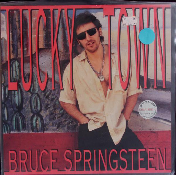 BRUCE SPRINGSTEEN, lucky town (USED) cover
