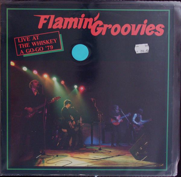 FLAMIN´GROOVIES, live whiskey a go-go ´79 (USED) cover