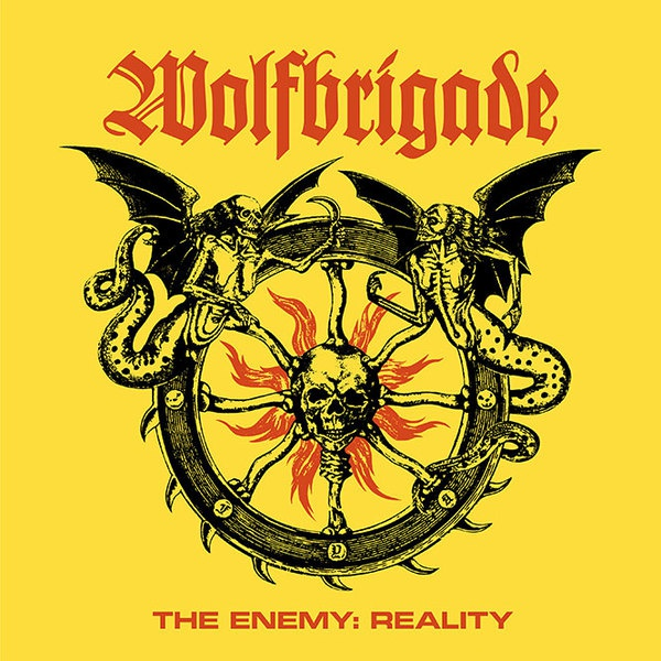 WOLFBRIGADE, the enemy: reality cover