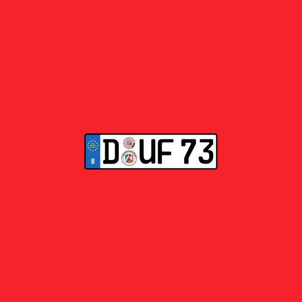 DAS BLAUE PALAIS, d-uf 73 (dufte) cover