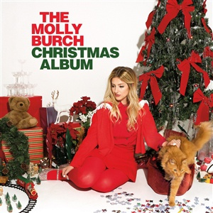 MOLLY BURCH, christmas album cover