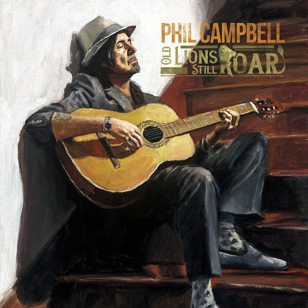 PHIL CAMPBELL, old lions still roar cover
