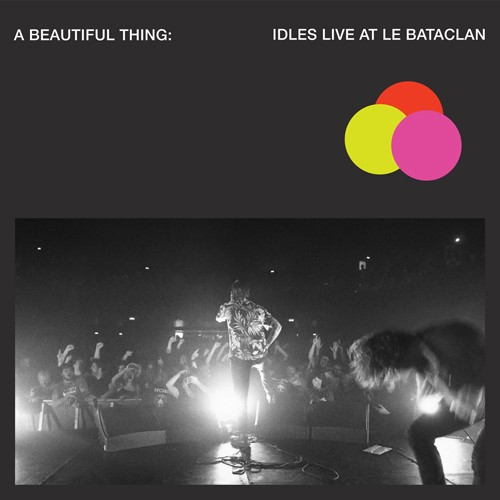 IDLES, a beautiful thing: live at the bataclan (pink) cover