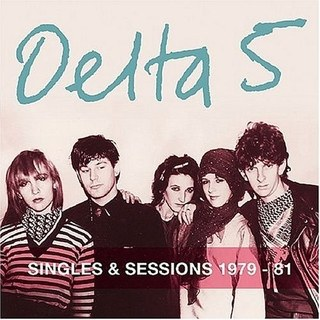 DELTA 5, singles & sessions 1979-1981 cover