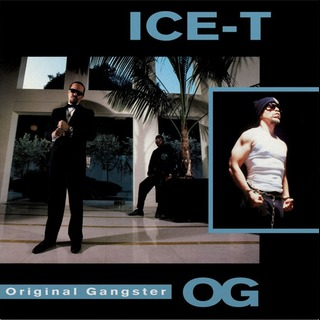 ICE-T, o.g. original gangster cover