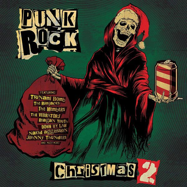 V/A, punk rock christmas 2 cover